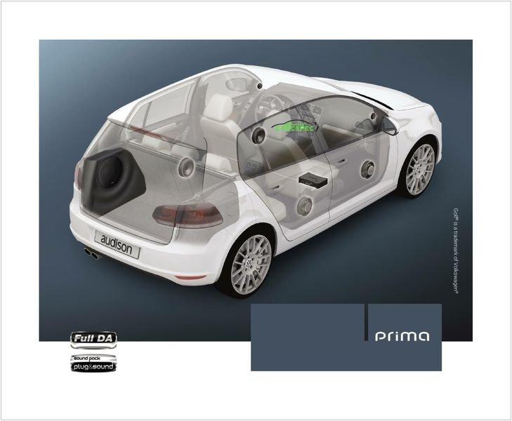 Audison Prima Apsp G6 Vw Golf Mk6 Exec Spec Car Audio