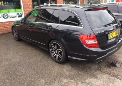 Mercedes Window tints Nottingham