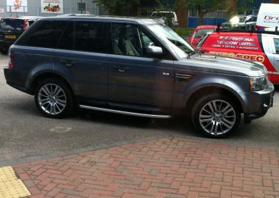 Range Rover Sport Window tints Nottingham