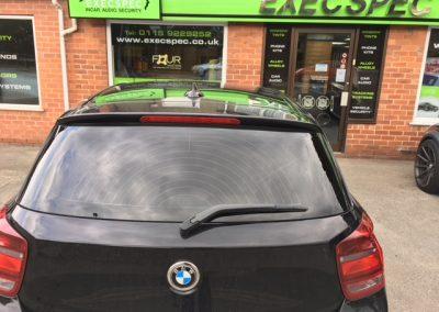 window tinting Nottingham BMW 1