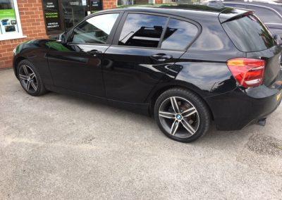 window tinting Nottingham BMW
