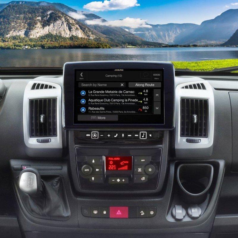 Alpine X902D DU Navigation System for Fiat Ducato 3, Citroën Jumper 2 and  Peugeot Boxer 2 - X902D-DU
