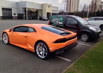 Lamborghini Huracan Tracking & immobilisation