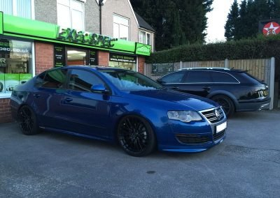 Volkswagen passat R & Audi A6 All-Road Tints