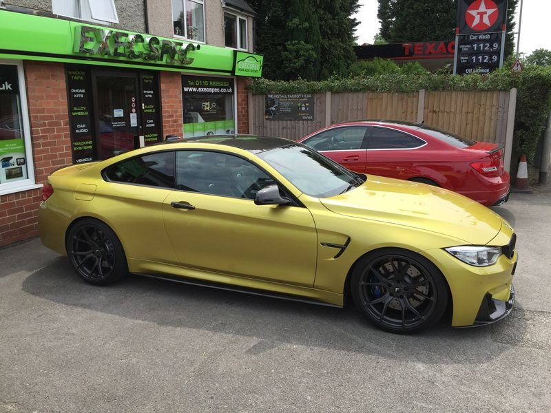 BMW M4 & Mercedes C63 Tints