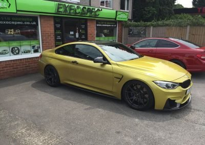 BMW M4 & Mercedes C63 Tints