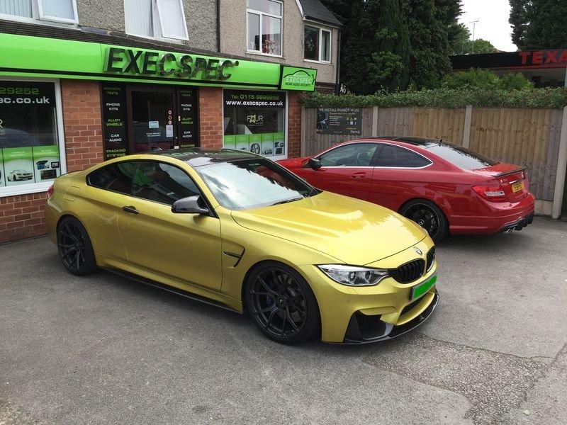 BMW M4 & Mercdes C63 Tints