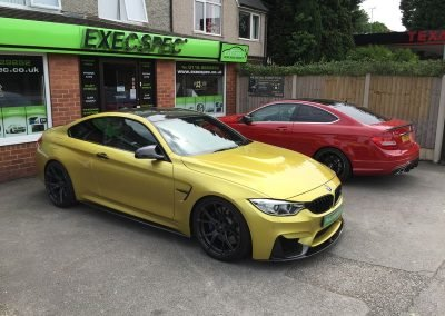 BMW M4 & Mercdes C63 Car Tracking & immobilisation