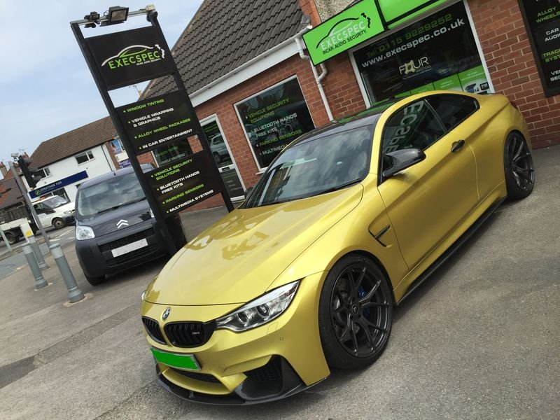 BMW M4 Tints