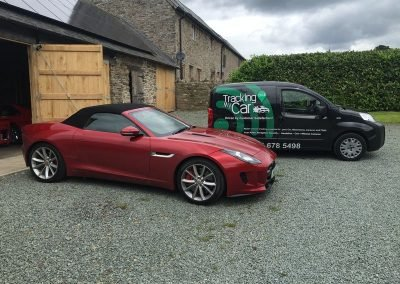 Jaguar F-Type Tracking & Immobilisation