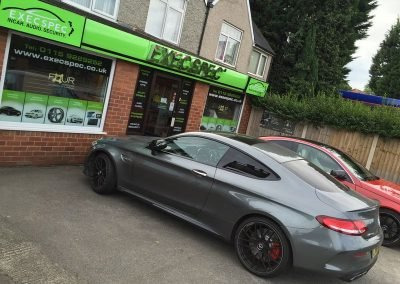 Mercedes C63 Tints