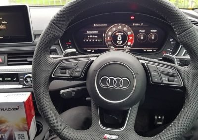 Audi RS Car Tracking