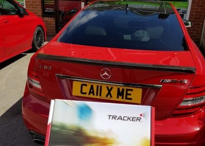 Mercedes C63 tracking & immobilisation