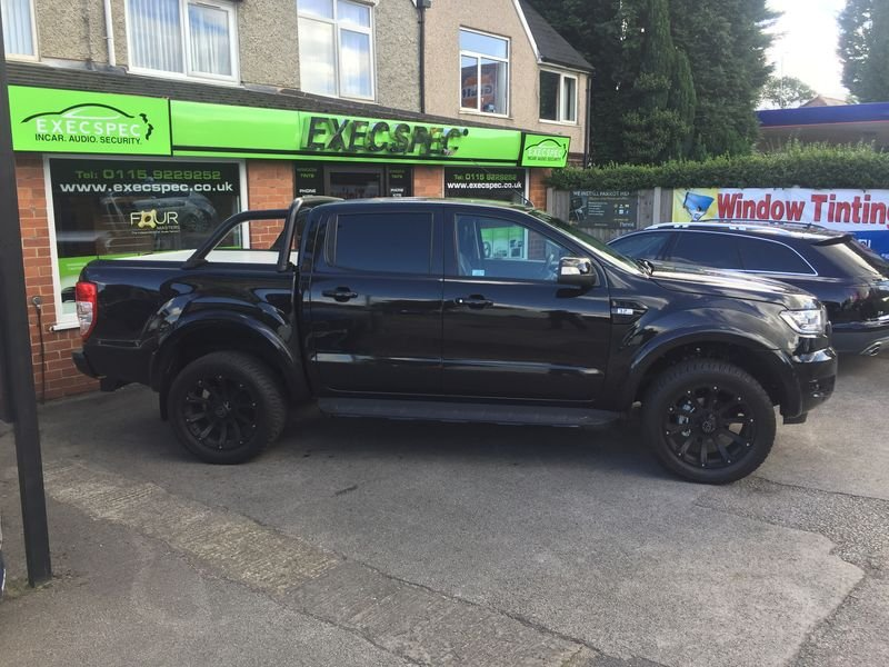 Ford Ranger Tints