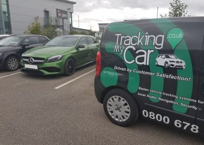 Mercedes Tracking & immobilisation