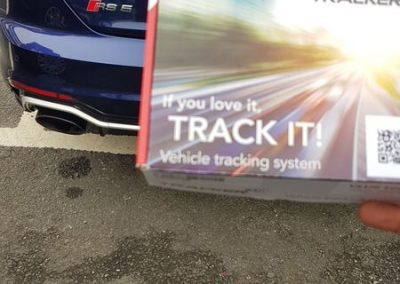 Audi RS5 Car tracking