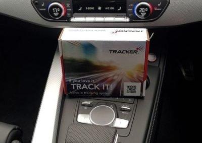 Audi car Tracking