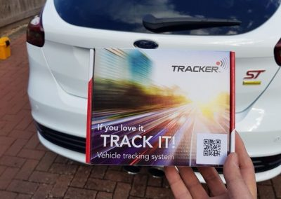 Ford Focus ST Tracking