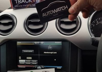 Ford Mustang Autowatch Ghost immobiliser & tracker Locate