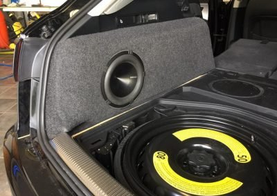 Audi A6 All Road Audio Install car audio nottingham
