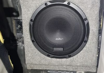 Mercedes Sclass subwoofer car audio Nottingham Derby