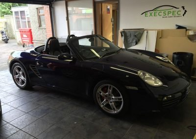 Porsche in for car audio