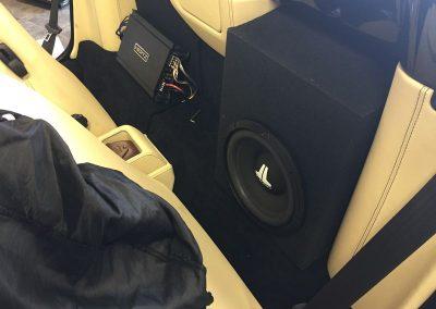 JL Audio Subwoofer & Hertz Amplifier