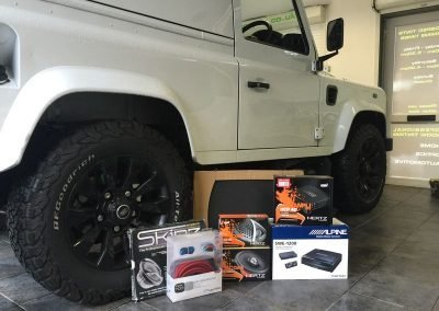 Land Rover Defender Car Audio Upgrade