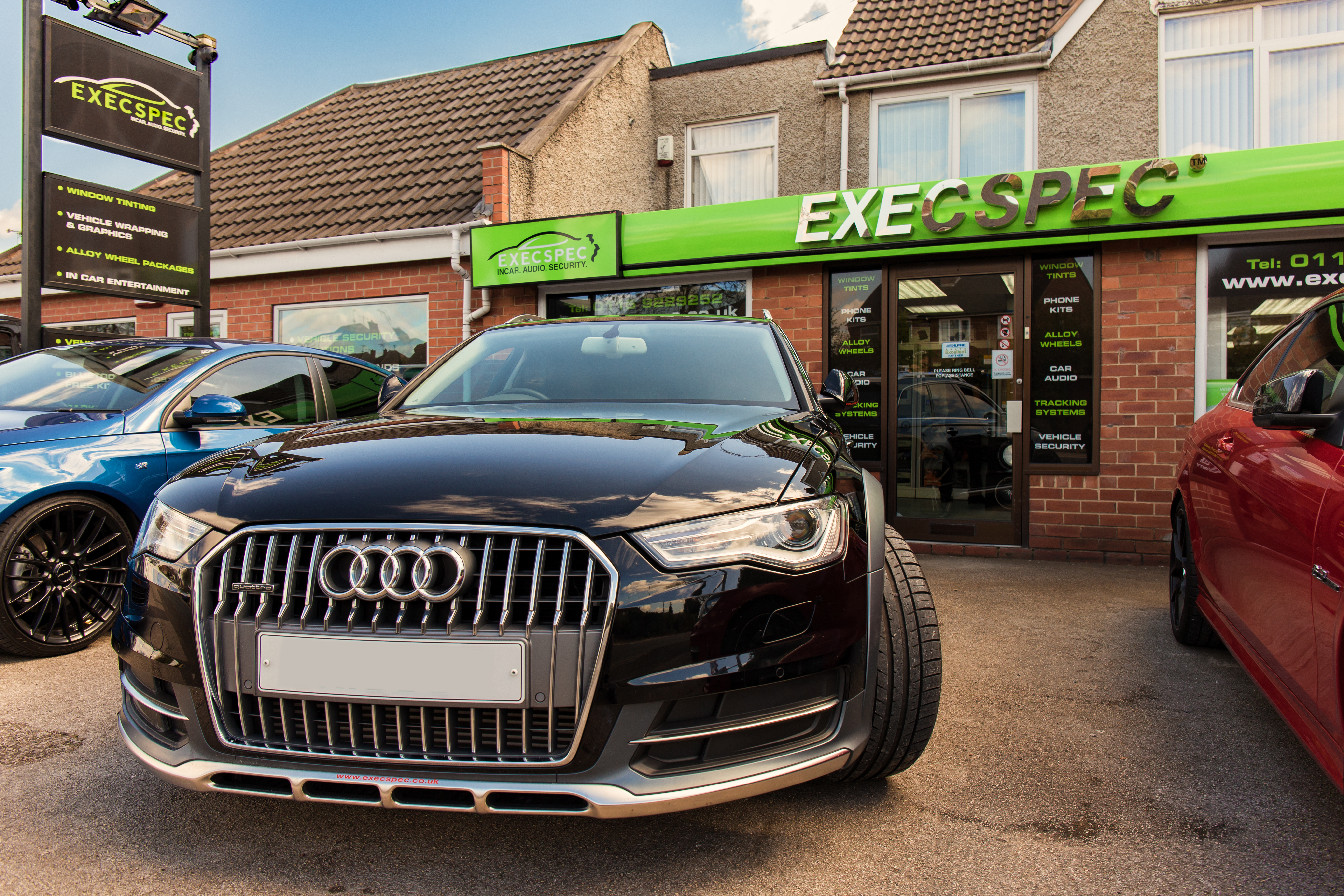 Audi A6 All Road Audio Install Exec Spec Car Security High Performance Wiring Nottingham