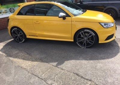 Audi S1 Tints