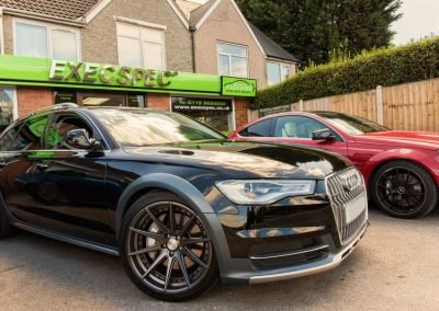 Audi A6 All-Road & Mercedes C63 Tints