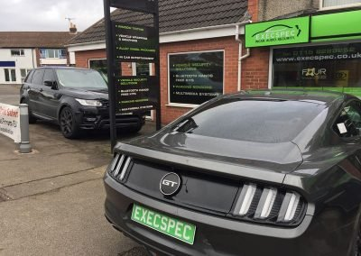 Ford Mustang & Range Rover Sport Tints
