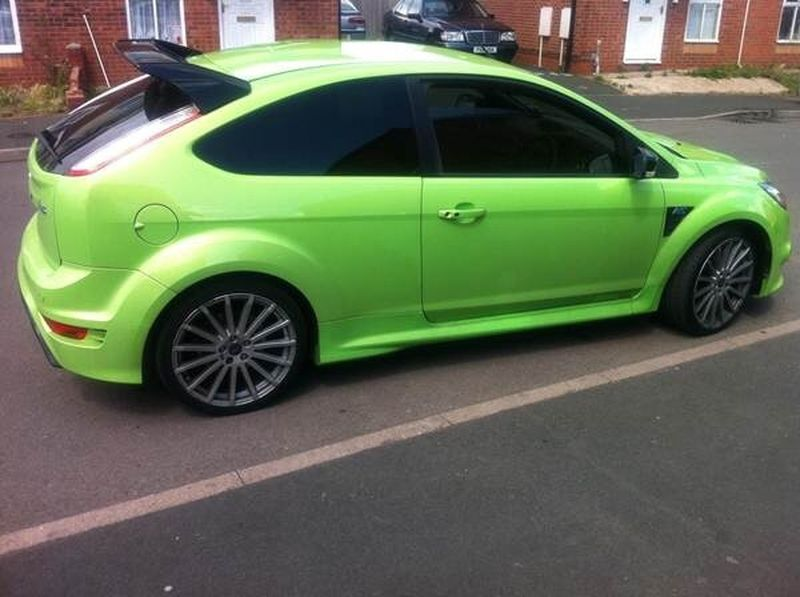 Ford Focus RS Tints