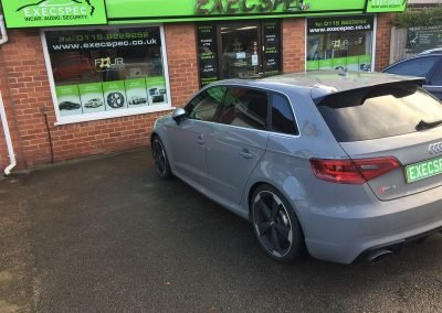 Audi RS3 Tints