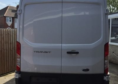 reverse camera Ford Transit