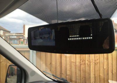 reverse numberplate camera tipper
