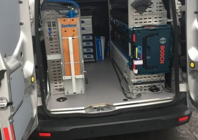 Ford Transit Connect Sortimo Racking