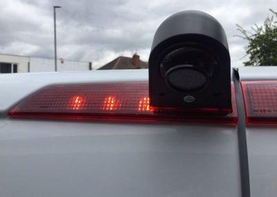 Brakelight reverse camera