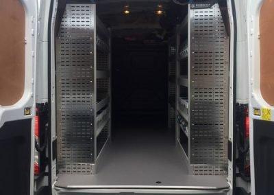 Ford Transit Sortimo Racking