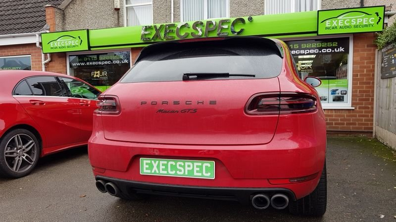 Porsche window tinting Nottingham Derby