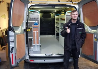 Ford Transit Custom Sortimo Racking
