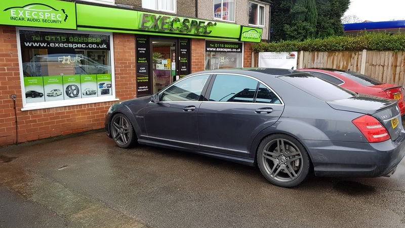 Mercedes window tinting Nottingham Derby