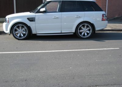 Range Rover Alloys nottingham derby best