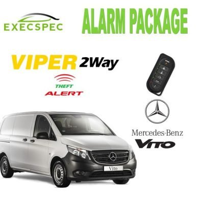 Mercedes Vito Alarm Security Package 2-Way Security/Alarm System van alarm package best alarm nottingham derby