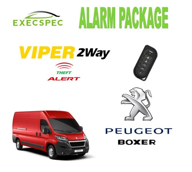 peugeot boxer alarm security package 2 way security alarm system