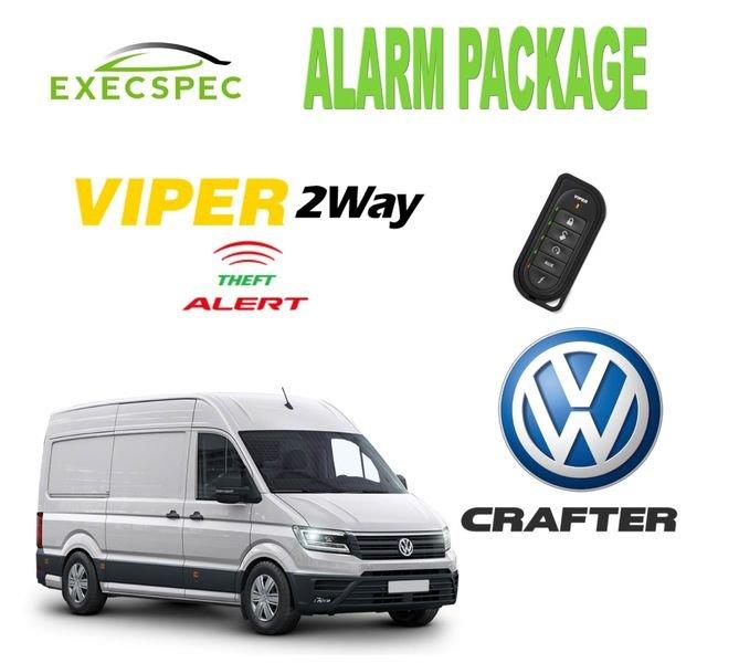 Volkswagen Crafter Alarm Security Package 2-Way Security/Alarm System
