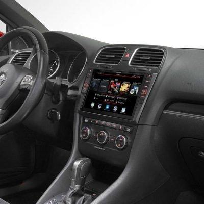 Alpine Vw Golf MK6 headunit upgrade car audio upgrade best nottingham derby