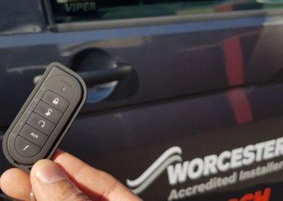 VW T6 viper alarm system