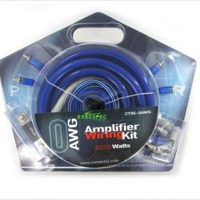 Amp wiring kits