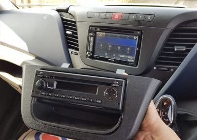 Iveco daily alpine replacement stereo